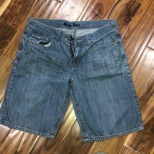 Men's guess jean shorts size 38